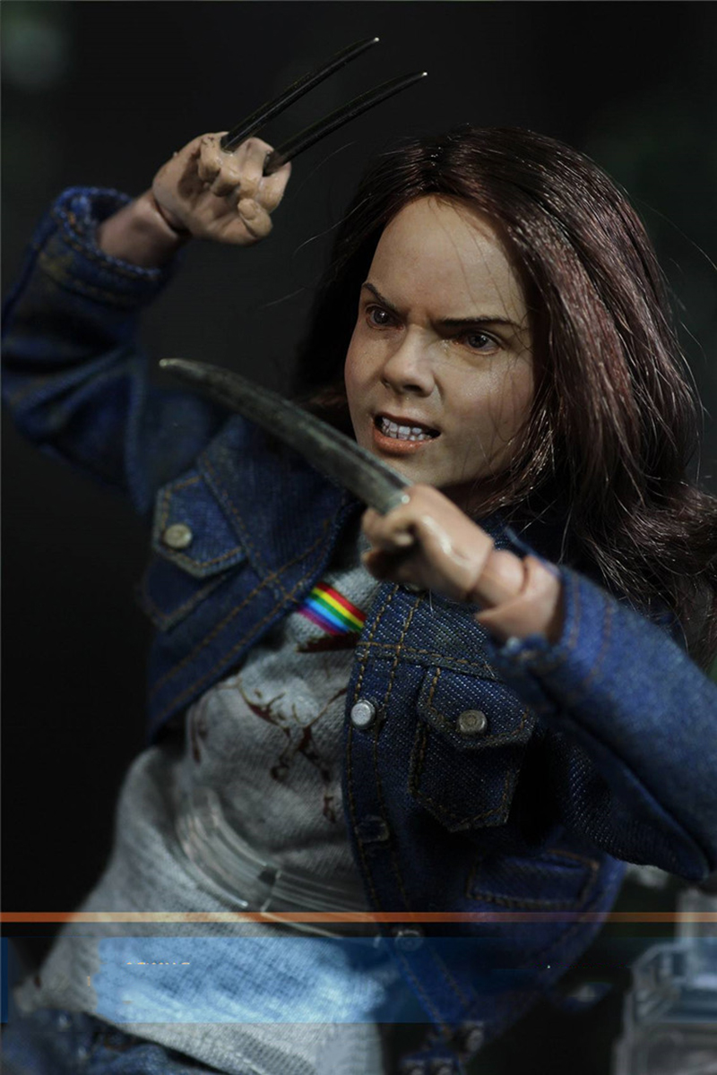 Asmus Toys 1//6 Wolverine Laura Kinney Jeans Head// Body// Clothing// Base in stock