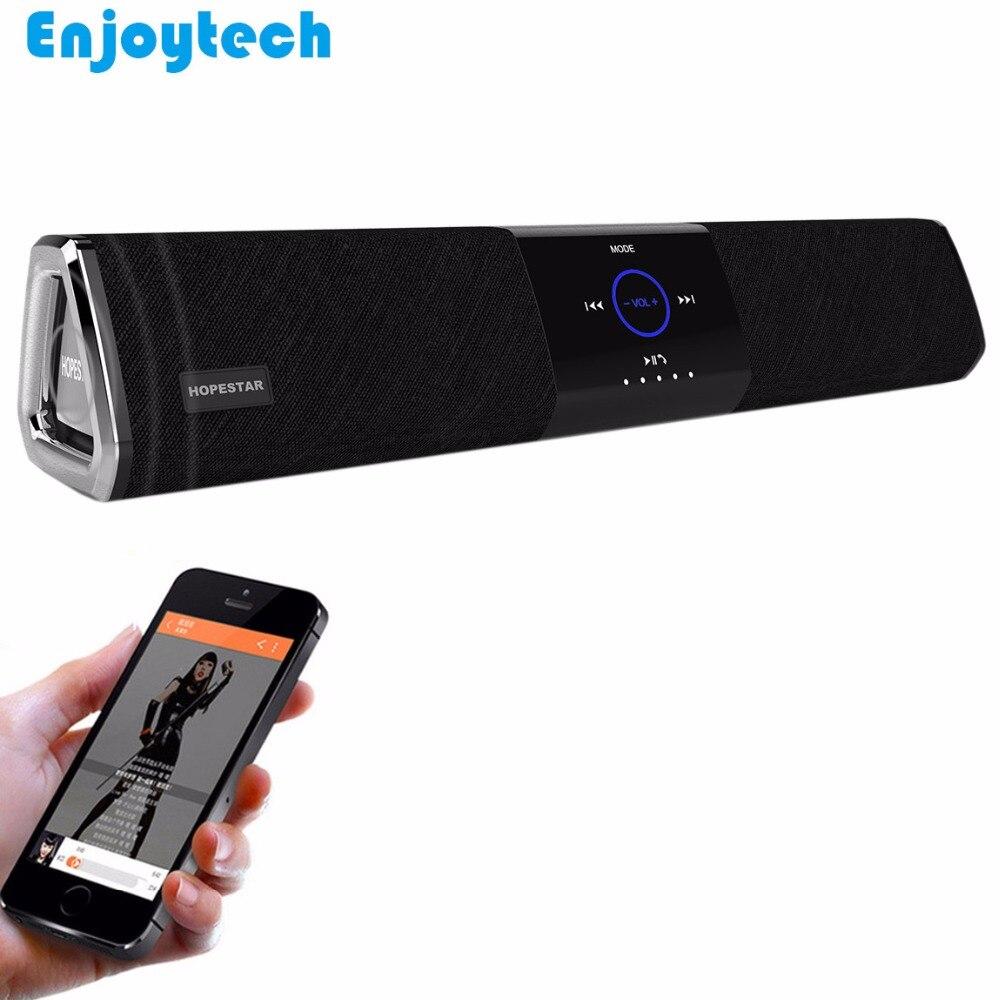 Nouveau sans fil NFC Bluetooth haut-parleur 10 W * 2 barre de son pour TV projecteur ordinateur portable Subwoofer pour Iphone Xioami Samsung Huawei téléphones