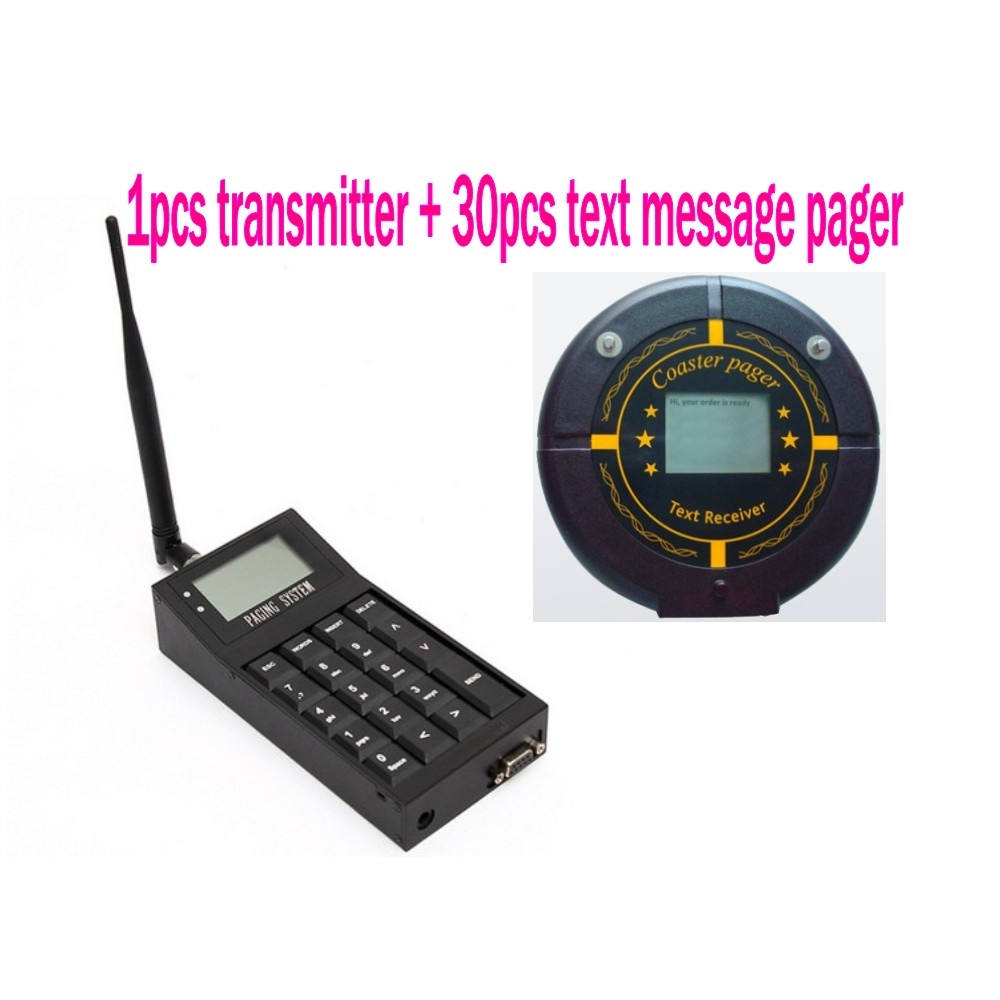 Free shipping! Queue call, 1pc guest paing system transmitter, 30pcs - Office Electronics