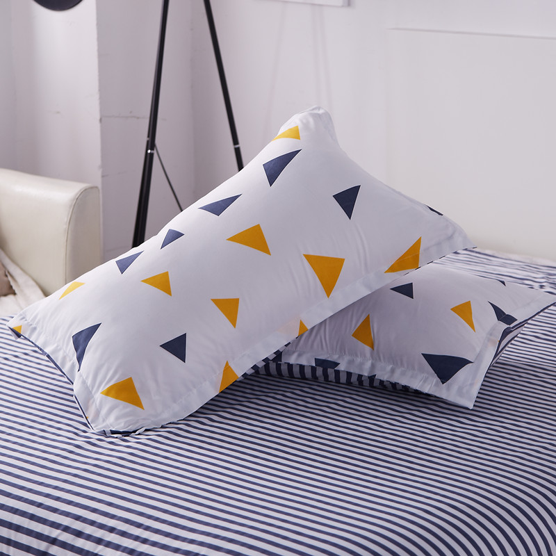 Luxury  Pillow Case  Reactive Prints Bedding Set