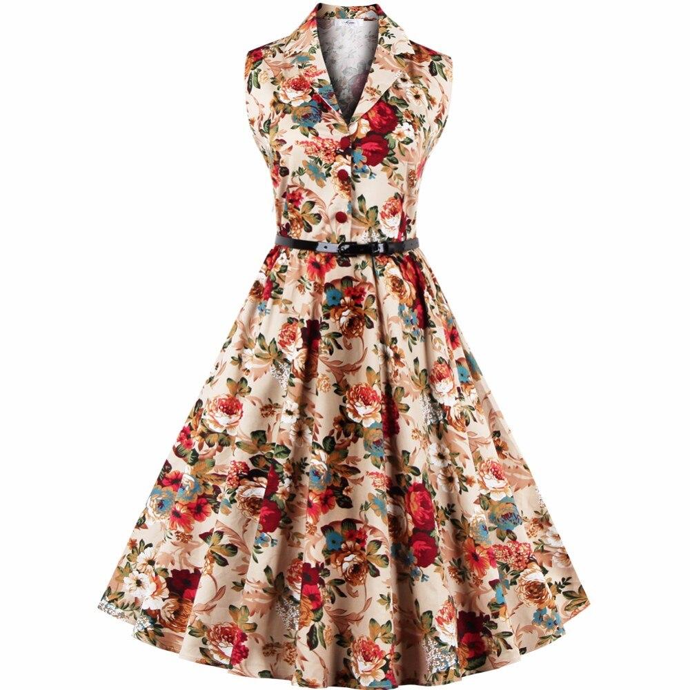 aliexpress buy vintage dresses 60s 50s summer 2017