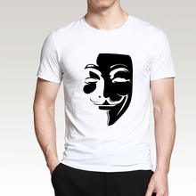 V for Vendetta 2019 Summer New Style Men T Shirt 100% Cotton High Quality O-Neck Short Sleeve Shirt Casual Fashion Top Tees
