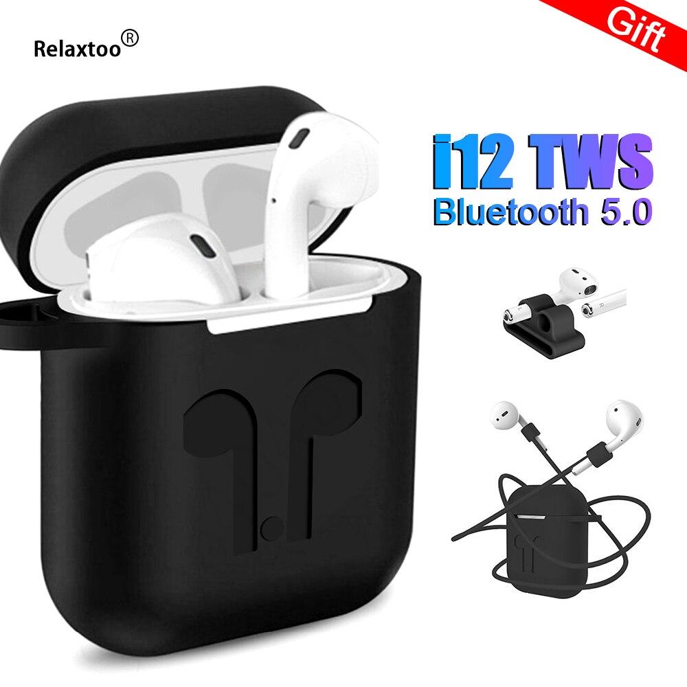 Mini i12 tws i10 Sans Fil Écouteurs Tactile Mise À Niveau De Charge Stéréo Bluetooth 5.0 écouteurs oreille Pod Air Gousses Pour Xiaomi je 10 i10tws