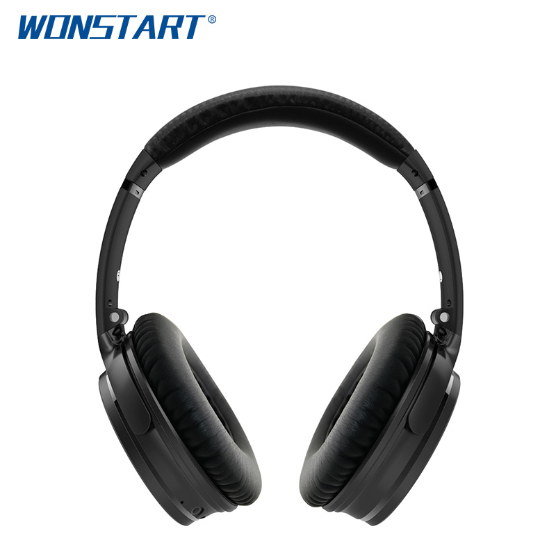Wonstart ANC Wireless Bluetooth  Stereo Headphones Portable Bluetooth Headset For IOS Android Samsung Xiaomi Huawei 2017 scomas i7 mini bluetooth earbud wireless invisible headphones headset with mic stereo bluetooth earphone for iphone android
