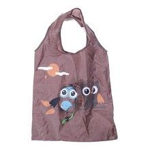 Animal Owl Shape Shopping Foldable Reusable Portable Bag