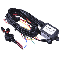 Car Led Daytime Light Auto ON OFF DRL Controller Wire Auto With Flash Reduce Light And