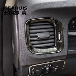 Car styling side air conditioning vent AC outlet decorative frame cover Sticker trim For Volvo V60 S60 Interior auto Accessories