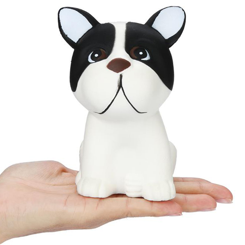 Jumbo Milk Dog Squishy Slow Rising Cute Cream Scented Simulation Squeeze Toys Soft Stress Relief Funny Kid Baby Xmas Gift Toy