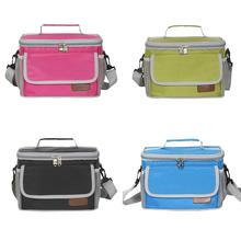 Insulated Durable Reusable Lunch Bag Waterproof Leakage Proof Insulation Tote Single Shoulder Strap Food Storage Cold Ice Bags