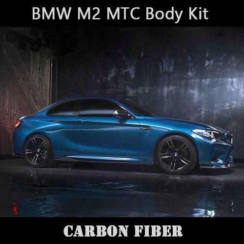 Kit de carrosserie en Fiber de carbone de Style MTC pour le Style sportif BMW M2