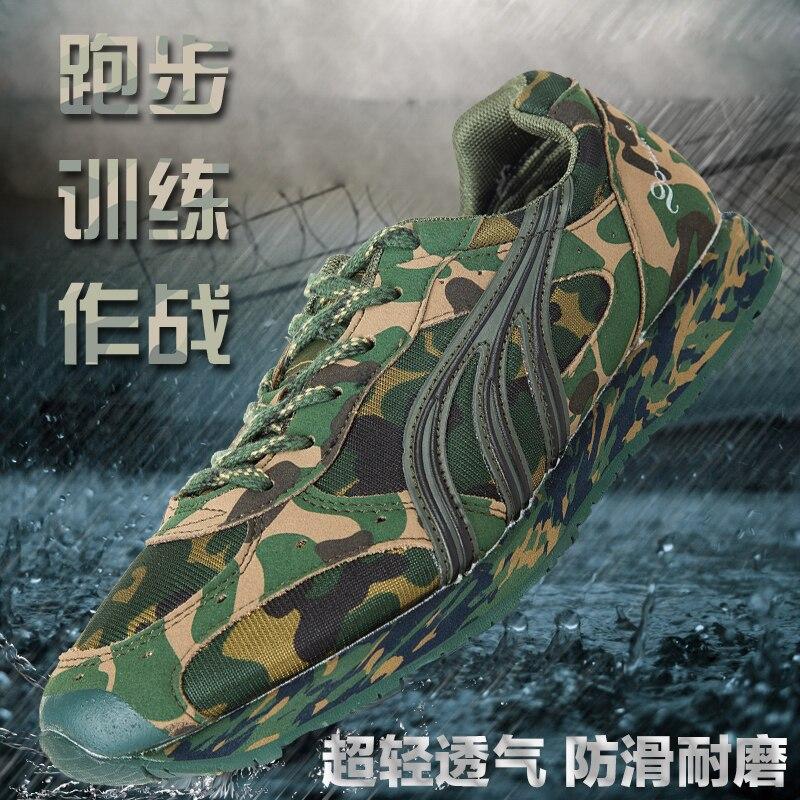 2016 new large desert digital camouflage military shoes breathable extra large size men boys size36~46