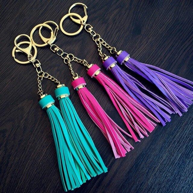 10.5 centímetros PU borla saco chaveiro bom presente para o professor pandent calças menino bangtan chaveiros acessórios chave cadeia de ferro macio