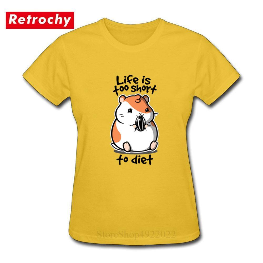 Women/'s Premium Funny Cartoon Fat Zebra Print T-Shirt