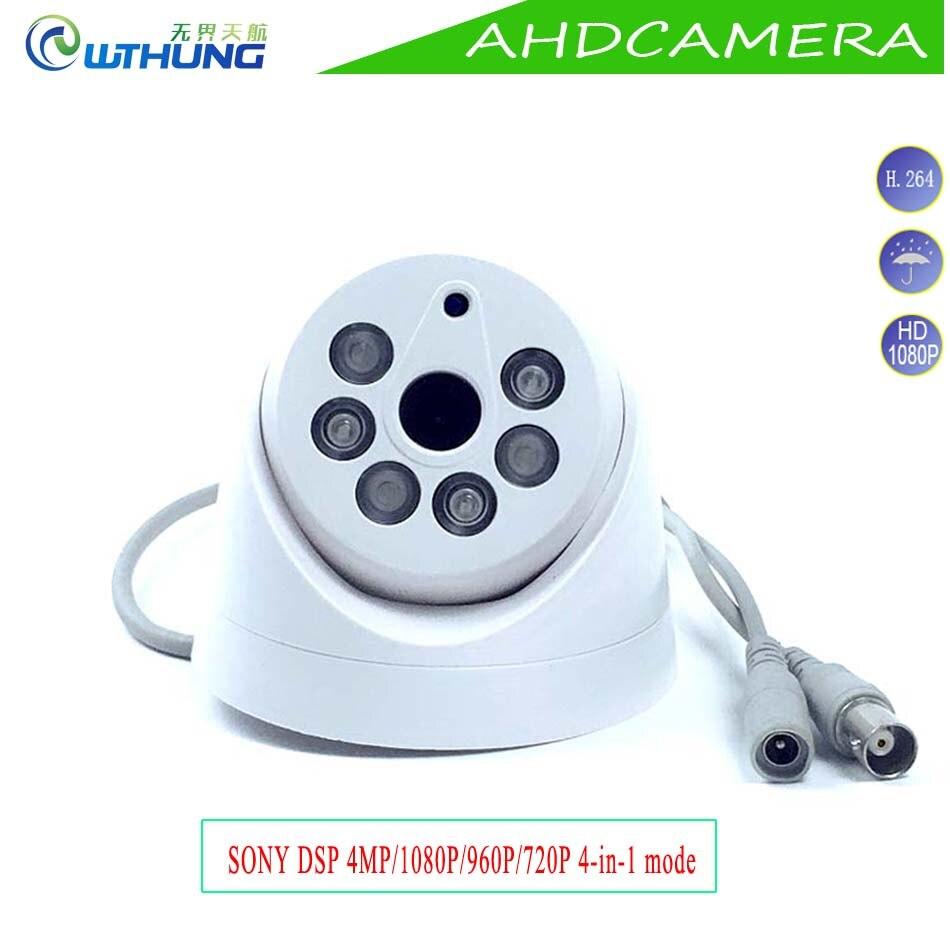 Mini Dome AHD Camera 2 0MP 1080P 1 3MP 960P 1 0MP 720P 4MP IR Night