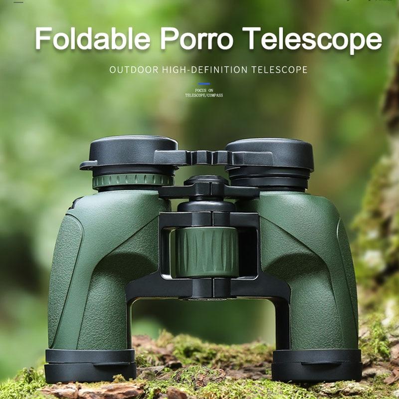 Eyeskey 8x32 Binoculars Porro Waterproof Binoculars Camping Hunting Scopes Powerful Binoculars Telescope Bak4 Prism Optics цена