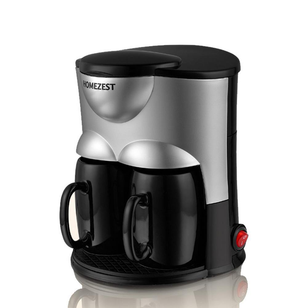 Автоматическая домашняя офисная электрическая кофемашина капельная Кофеварка