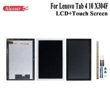 Alesser Için Lenovo Tab 4 TB X304L TB X304F TB X304N TB X304 X304F lcd ekran ve Dokunmatik Ekran Montaj Onarım Parçalar +