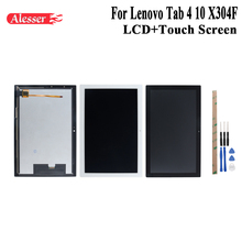 ЖК дисплей Alesser для Lenovo Tab 4 TB X304L, ЖК дисплей и сенсорный экран в сборе, ремонтные детали и инструменты для Lenovo Tab 4 TB X304L, TB X304F, X304F