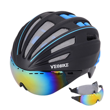 Cycling Helmet Safety Women Men Ultralight Mountain Road Bike MTB Windproof 2 Glasses Bicycle Accessories Racing Casco Ciclismo gub ultralight in mold road mtb mountain bike bicycle helmet outdoor sports cycling safety accessories casco bicicleta