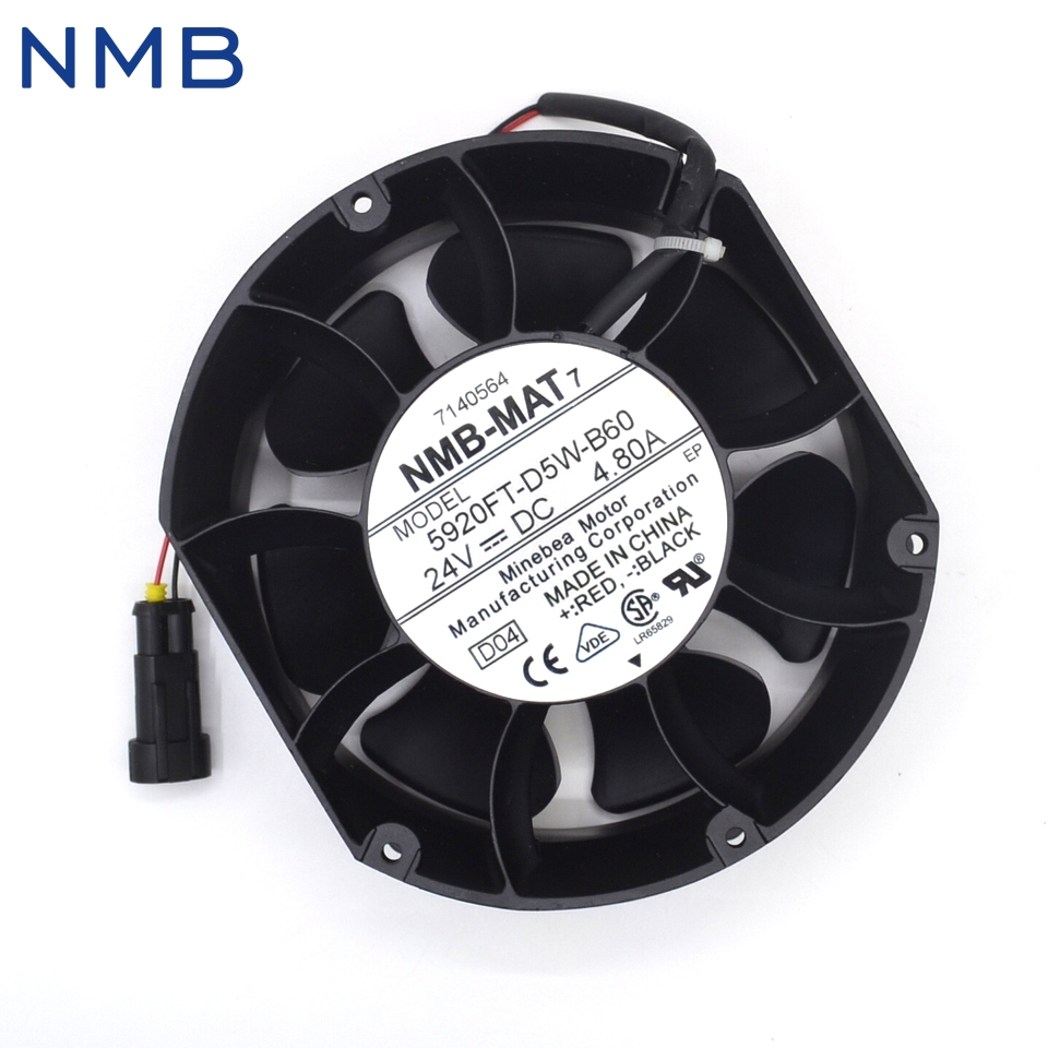 Free Shipping new NMB-MAT7 5920FT-D5W-B60 Free 24V 4.80A cooling fan free shipping nmb cooling fan 3610ps 22t b30 220v instrumentation axial 92 92 25mm page 7
