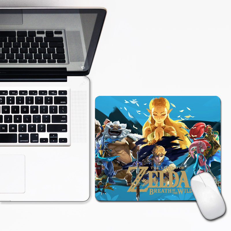 30x25cm Adventure Game Mousepad The Legend Of Zelda Small Size Speed Gamer Gaming Mouse Pad For Office Laptop Notebook Mat