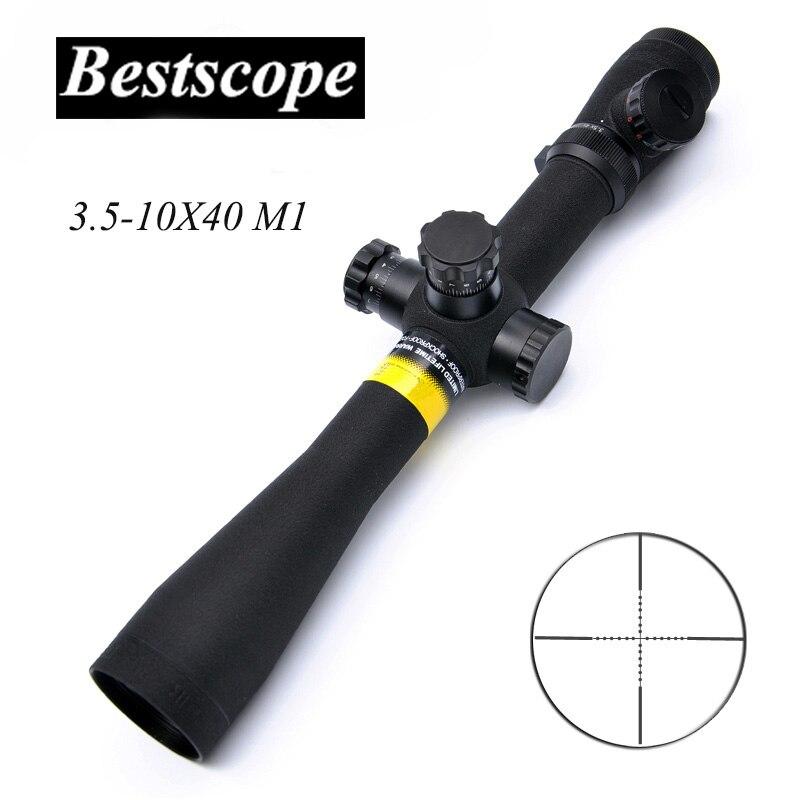 все цены на BSA OPTICS 3.5-10X40 M1 Long Eye Relief Rifle Scope Tactical Optical Scope Side Parallax Focus Adjust Hunting Scopes Sniper онлайн