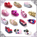 Spring autumn princess shoes 0-1 year old baby  toddler shoes baby soft sole shoes