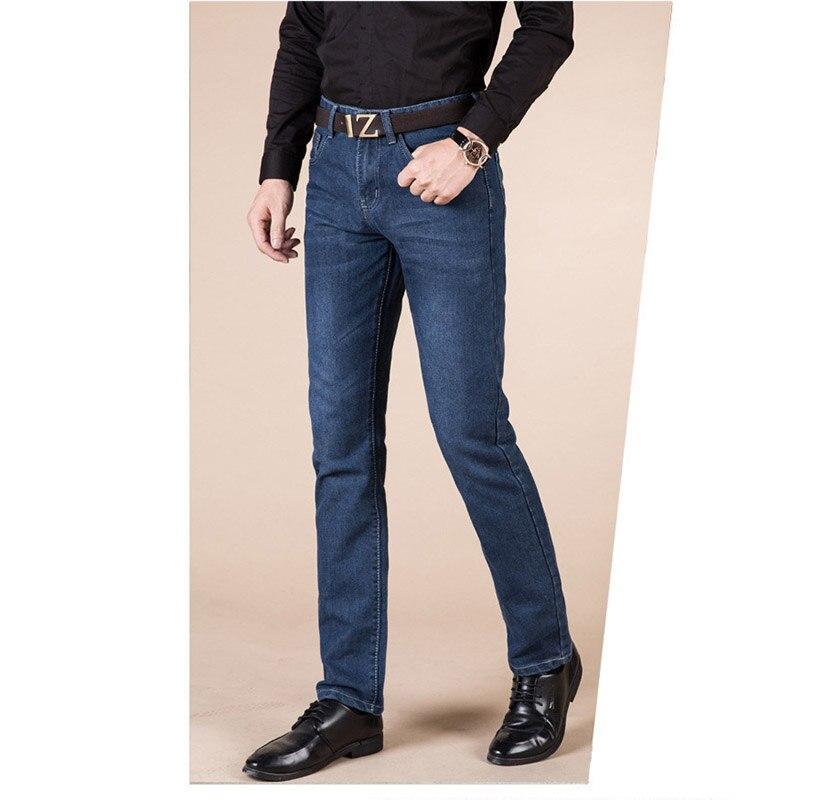 OnnPnnQ Brand Men Jeans Size 28 to 40 Black Blue Stretch Denim Slim Fit Men Jean for Man Pants Trousers Jeans Four Season Wear
