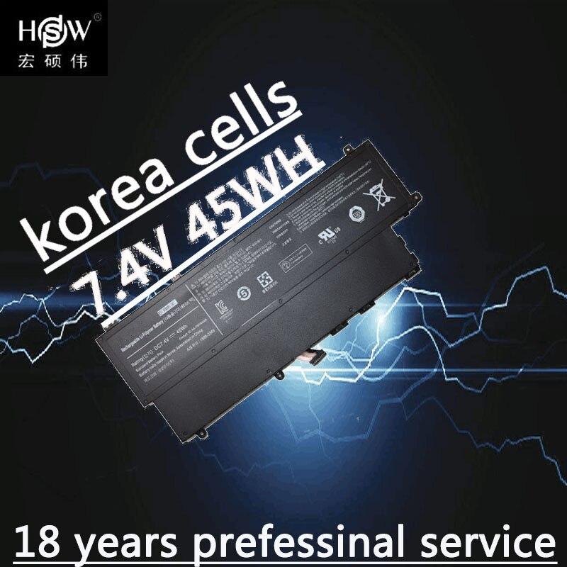 HSW Nouveau 7.4 V 45Wh AA-PBYN4AB Batterie pour Samsung UltraBook 530U3C NP530U3B NP530U3C 530U3C-A01 530U3C-A02 530U3C-A03 Batterie