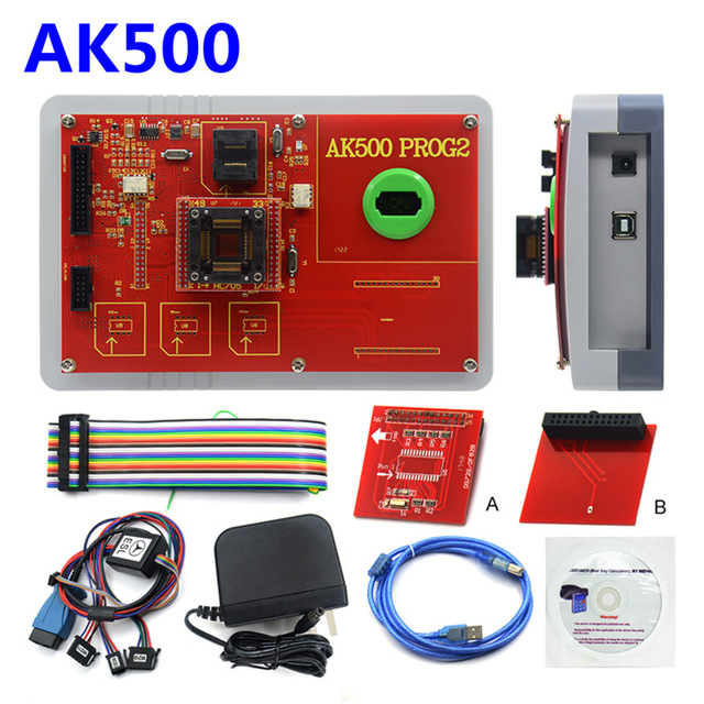 Image 4 - Новейший AK500 + AK500 ключевой программист с EIS SKC Калькулятор AK500 Pro для M ercedes AK500 ключевой программист-in Программаторы с автоповтором from Автомобили и мотоциклы on