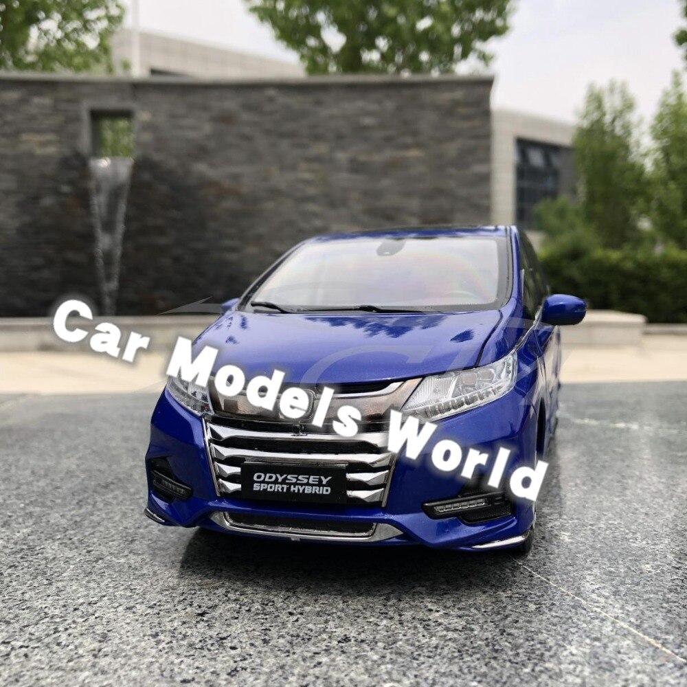 ¡Fundición modelo de coche para Odyssey deporte híbrido 1:18 (azul) + pequeño regalo!-in Troquelado y vehículos de juguete from Juguetes y pasatiempos    1