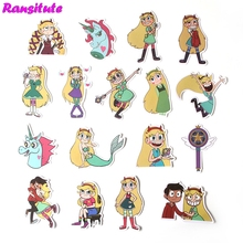 17Pcs set Cartoon cute Waterproof font b Phone b font Decoration Stationery Sticker Scrapbooking Diary Album
