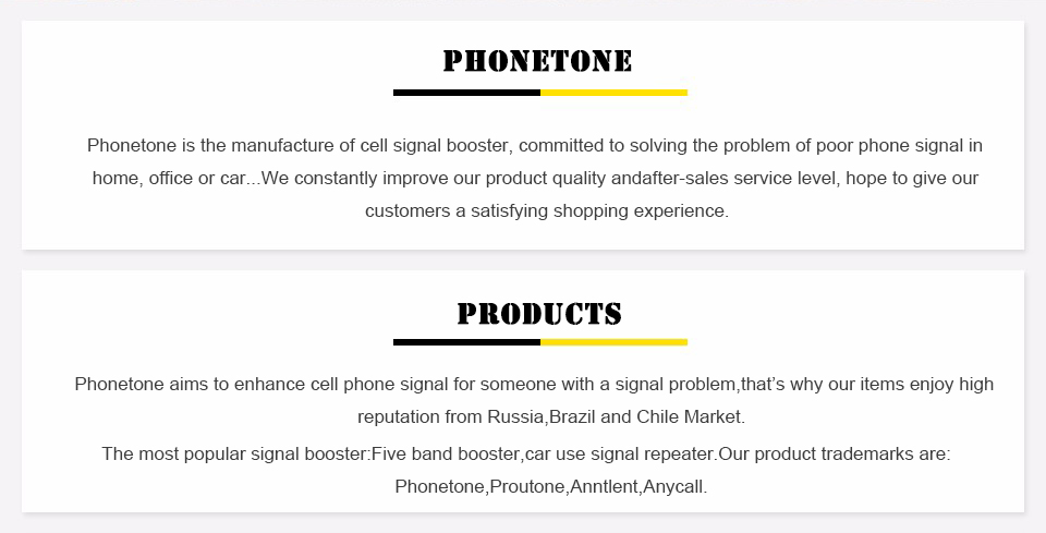 7-phonetone products