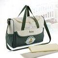 High quality diaper nappy baby bag stroller shoulder polyester infantil bolsa mother handbag tote maternity bag dot