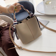 цена на Bucket Tote Crossbody Bags For Women 2019 High Quality PU Leather Luxury Handbags Designer Ladies Hand Shoulder Messenger Bag