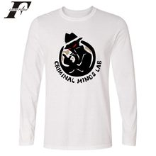 561a7e9ea LUCKYFRIDAYF funny t shirts Criminal Minds Long Sleeve fitness Fashion T  shirt men Amrican TV Shows