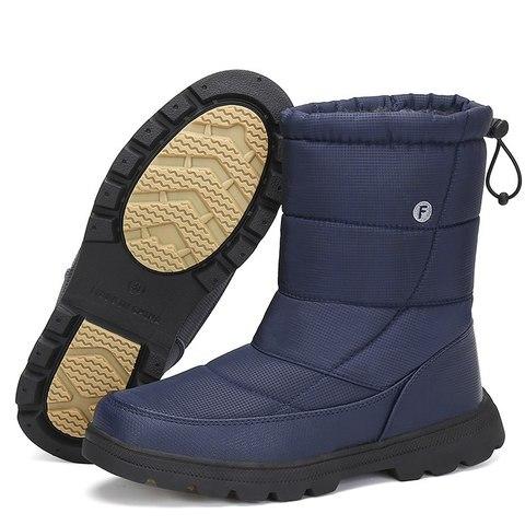 Christmas Men Shoes Winter Snow Boots Men Flat Safety Shoes Warm Military Boots Waterproof Rain Boots Antiskid Zapatos De Hombre Karachi