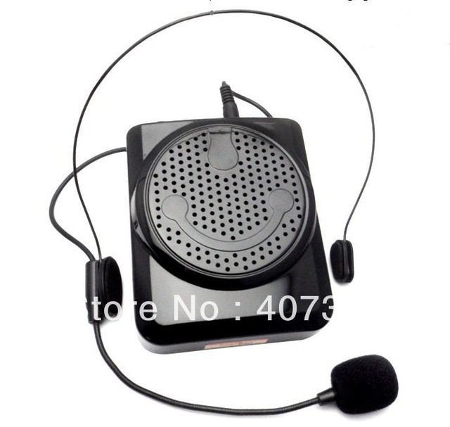 Table Speaker Card Inserts 4: Free Shipping Portable PA Microphone Voice Loud Booster