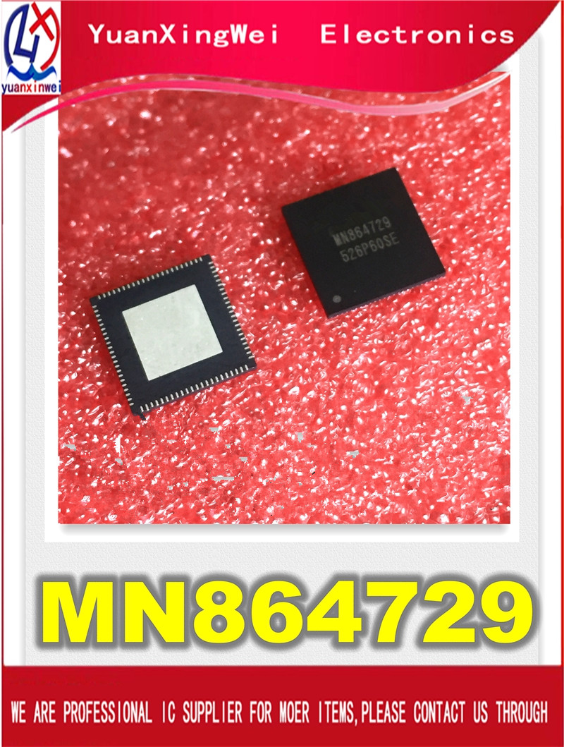 Free shipping 3PCS LOT MN864729 QFN HDMI ic for PS4 CUH 1200 IC