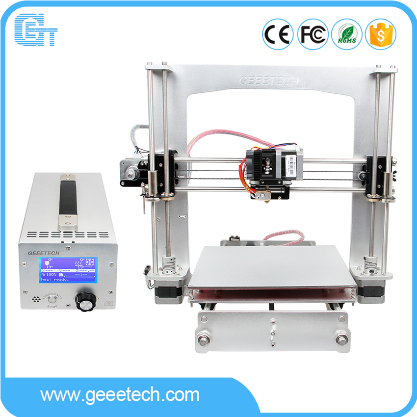 Geeetech Prusa i3 A Pro 3D Printer All Aluminum Frame High Precision LCD12864 Impressora Reprap with Power Control Box пена монтажная mastertex all season 750 pro всесезонная
