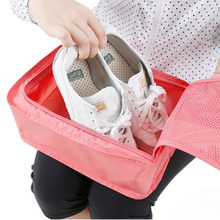 Multi-purpose Storage Bag Shoes Organizer Shoe Pouch Packing Cube for Travel 7 color