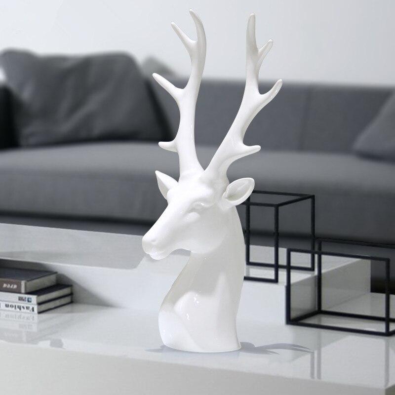 Popular Porcelain Deer Head Buy Cheap Porcelain Deer Head Lots