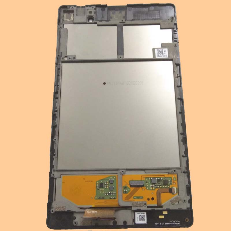 For Asus Nexus 7 2nd ME572 ME572C ME572CL Black Touch Screen Digitizer Glass + LCD Display Panel Assembly Frame new 7 inch case for asus memo pad 7 me572cl me572 lcd display digitizer touch screen with frame free shipping