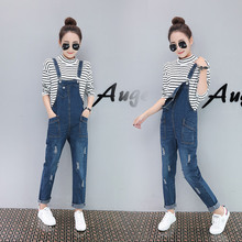 26e50e06b5bdc Buy women jean overall outfits and get free shipping on AliExpress.com