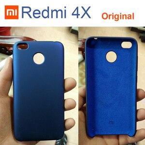 Image 1 - 원래 xiaomi redmi 4x 케이스 5.0 럭셔리 슬림 pc + 내부 소프트 벨벳 섬유 커버 케이스 xiaomi redmi 4x 프로 전화 가방