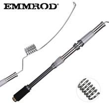 EMMROD Stainless Metal Sea Spinning Fishing Rod 72cm Telescopic Fishing Rod Rock Fishing Rod