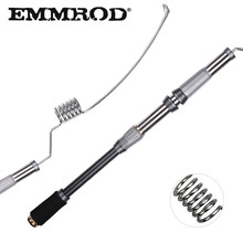 EMMROD Stainless Steel Sea Spinning Fishing Rod 72cm Telescopic Rock
