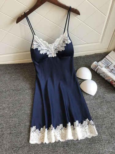 HIRIGIN החדש סקסי גבירותיי הלבשת נשים Babydoll לילה שמלת גברת מתוקה תחרה שמלות