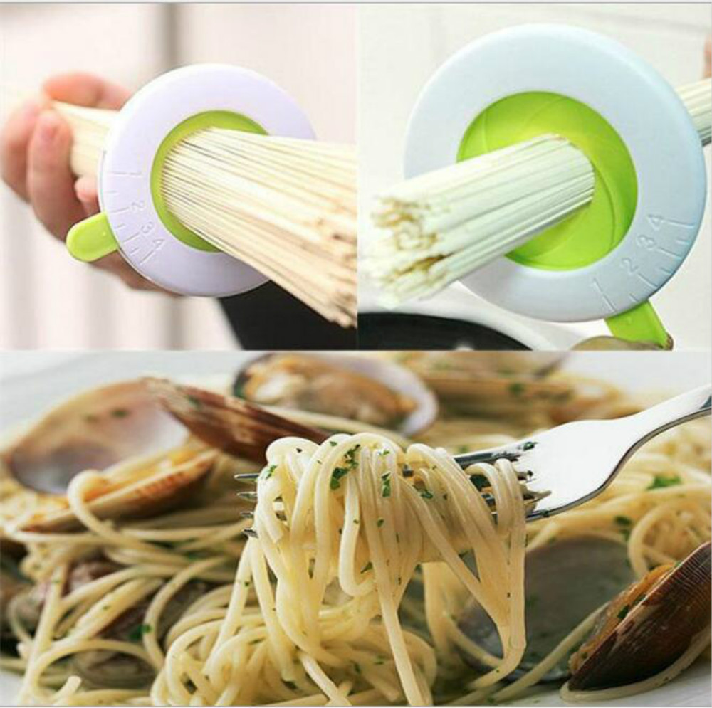 Creative Adjustable Spaghetti Measure Pasta Portions Controller Noodle Limiter Tool Home Kitchen Tool image