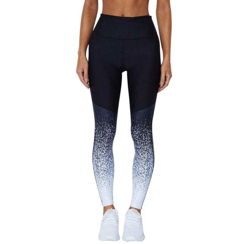 #4 2018 Neue Fshion Frauen Workout Hohe Taille Laufhose Fitness Elastische Leggings Dünne Beiläufige HöChste Bequemlichkeit